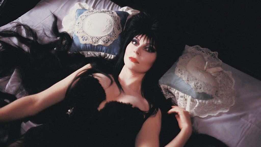 Night Frights blog post Elvira memoir yours cruelly photo