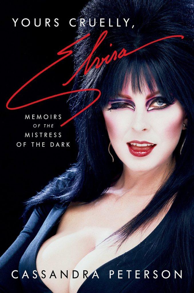Night Frights blog post Elvira Cruelly Yours memoir book cover