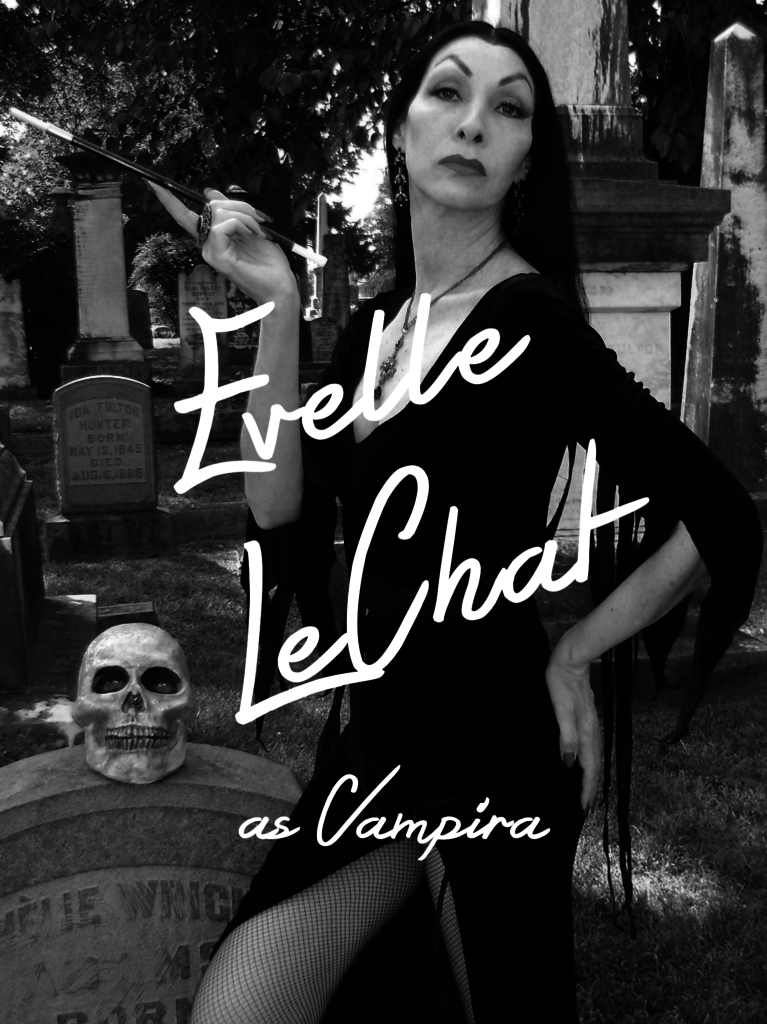night frights evelle lechat vampira look alike