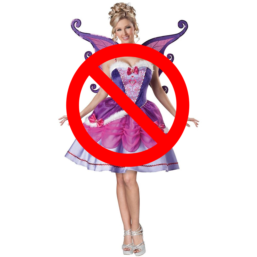 night frights evelle fairy costume bad