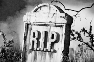Rest in Peace RIP tombstone